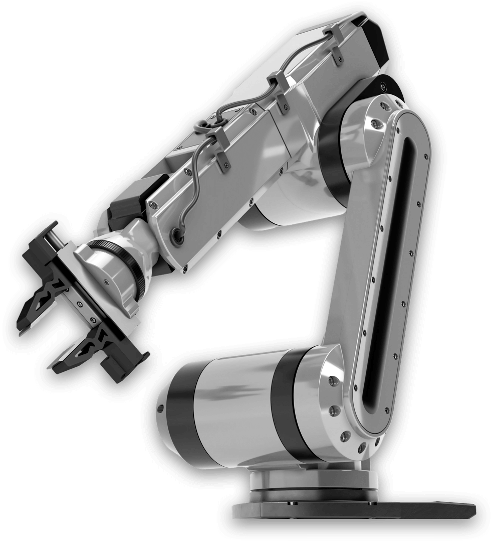 Robotic Arms Isolated